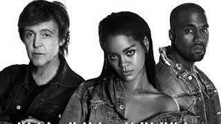 Rihanna Video - Rihanna Drops new Song 'FourFiveSeconds' With Kanye West & Paul McCartney!