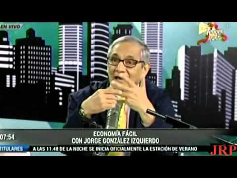 ECONOMÍA PERUANA 2016 - JORGE GONZALES IZQUIERDO