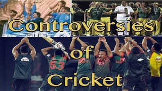 Controversies on Cricket Fields When players misbehave