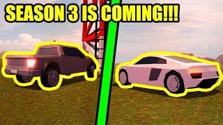 Jailbreak SEASON 3 IS COMING THIS WEEK!!! | Roblox Jailbreak New Update Live