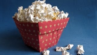How To Make And Pop Paper Popcorn