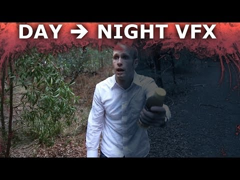Day For Night Video Conversion - Adobe After Effects Tutorial