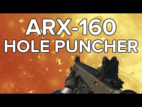 Advanced Warfare In Depth: ARX-160 Hole Puncher Professional Weapon Re...
