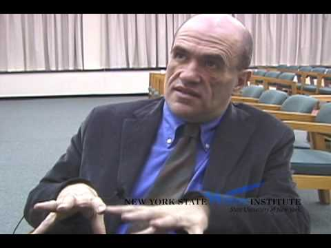 Colm Toibin at the NYS Writers Institute in 2001