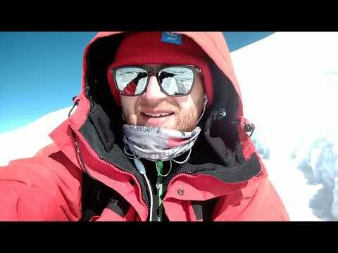2.1 A z Elbrusa na jabłuszku zjeżdżam tak. Elbrus 5642. Kaukaz.