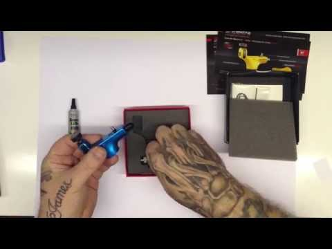 Spektra Halo Rotary Tattoo Machine Unboxing & Run (FK Irons)