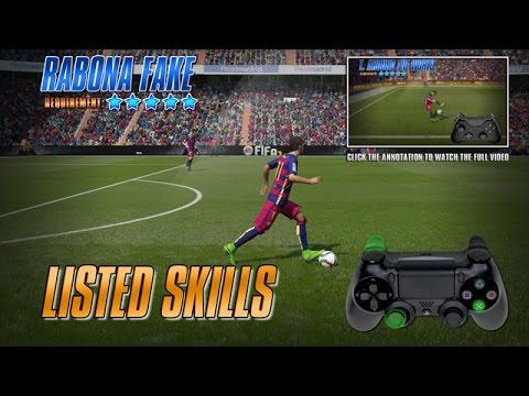 Fifa 17 / Fifa 16 Skills Tutorial [PS3, PS4]