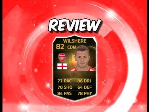 Fifa 15 inform Jack Wilshere review.