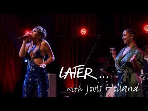 Kali Uchis and Jorja Smith - Tyrant - Later 25 live at the Royal Albert Hall