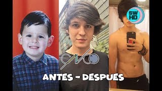 CNCO Before and After 2017 ⭐ CNCO Antes y Despues 2017 ⭐