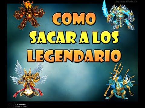 monster legends combinaciones para los legendarios 2013