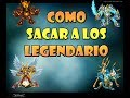 monster legends combinaciones para los legendarios 2013