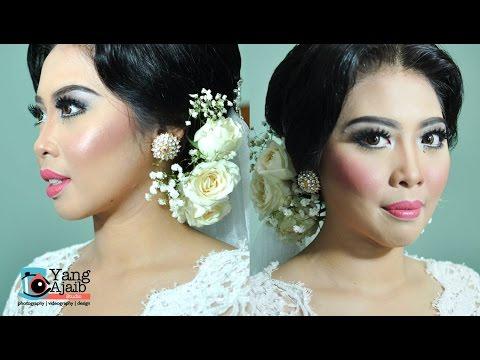 Tutorial Makeup Wedding  ( Pengantin Indonesia ) Minimalis by Inivindy