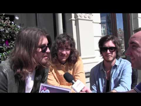 ESCKAZ in Amsterdam: The Makemakes (Austria) interview (at Eurovision In Concert)