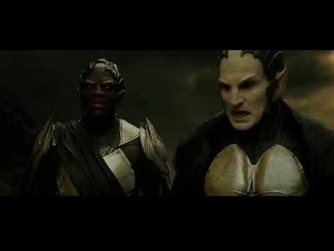Рассказ Одина - Асгардцы против Темных Эльфов ( Тор 2  Царство тьмы)