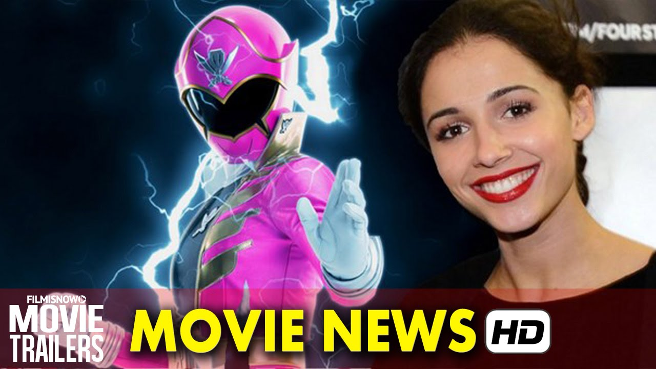 Movie News: Power Rangers reboot - Naomi Scott is the Pink Ranger [HD]