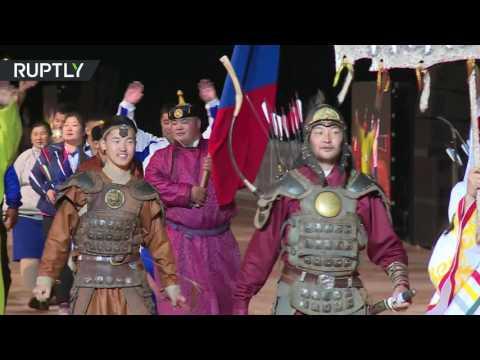 В Киргизии открылись Всемирные игры кочевников