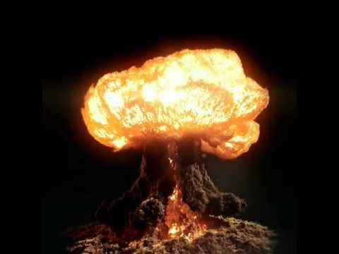Nuclear Bomb in a Slow Motion