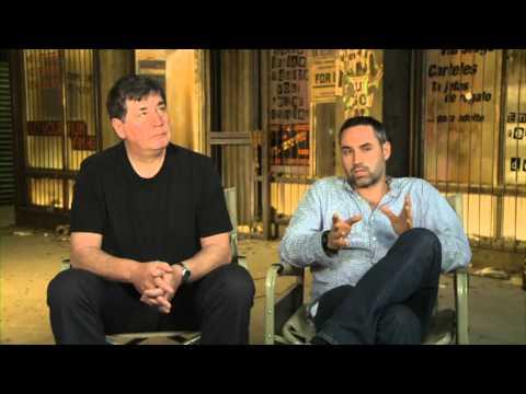 Alex Garland and John Wagner talks about Dredd (2012)
