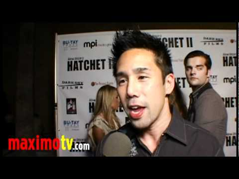 Parry Shen Interview at HATCHET 2 Premiere