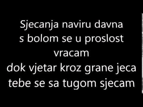 Šerif Konjević - Plačem Kao Dijete - Karaoke (tekst Na Ekranu) video