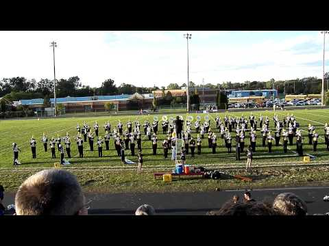 LakeVille High School Marching Band - National Anthem