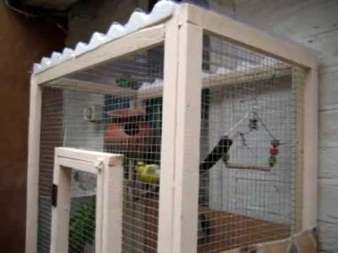 How To Make Your Own Bird Cage Or Mini Aviary Youtube