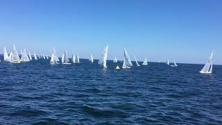 2017 Star North Americans Race 6 Leward Rounding