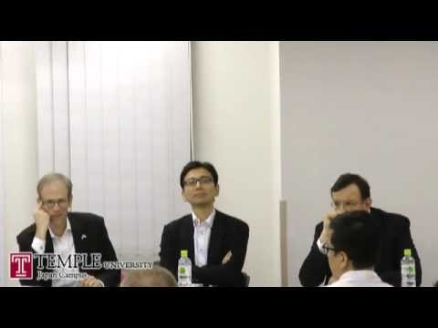 Public Lecture Video (7.10.2012) : Japan's International Relations and the Politics of 3/11