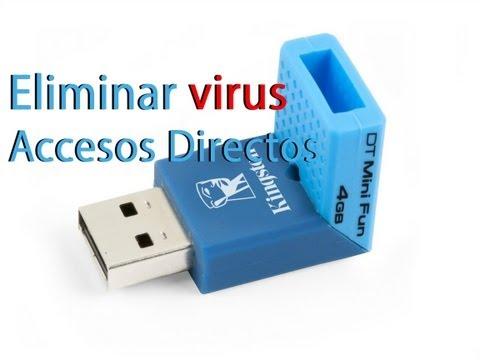 Eliminar el VIRUS (INK) de los accesos directos (Memorias USB. etc)