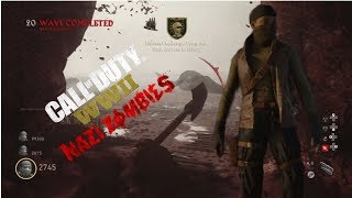 COD WW2 Nazi Zombies New Character Revealed (Deathraven Hunter) + Challenges Guide...