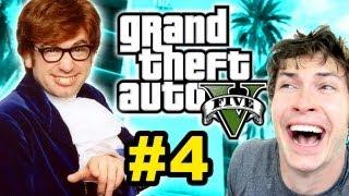 Grand Theft Auto V - I AUSTIN POWERS'ED IT!! - Part 4
