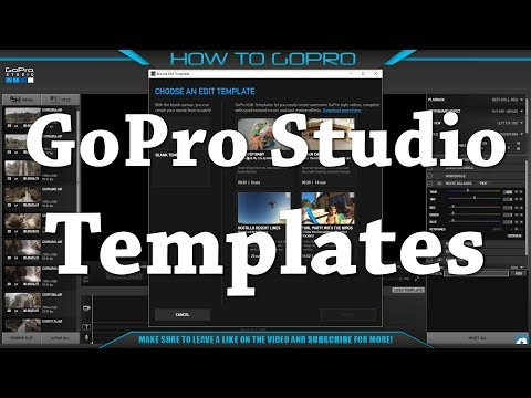 How to Make Awesome GoPro Video Easily With GoPro Studio Templates ...