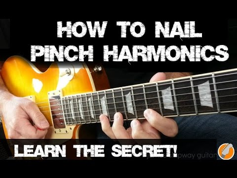 Lesson Guitar - Harmonic Exercise