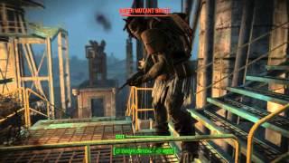 Fallout 4 - The Lost Patrol: Vertibird Attacks Super Mutants & Shot Down, Scribe Faris, Fusion Core
