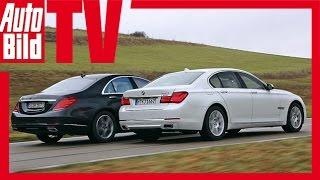BMW 750i vs. Mercedes S 500