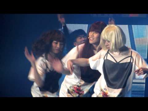 20141123 보이프렌드 콘서트 :: touch my body - 동현