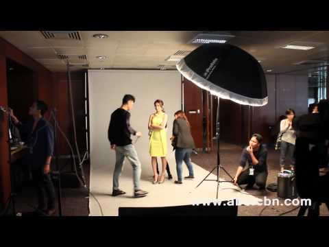 Behind The Scenes: Pangako Sa'yo Photoshoot video