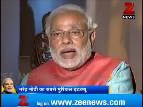 Zee Media's exclusive interview with Narendra Modi