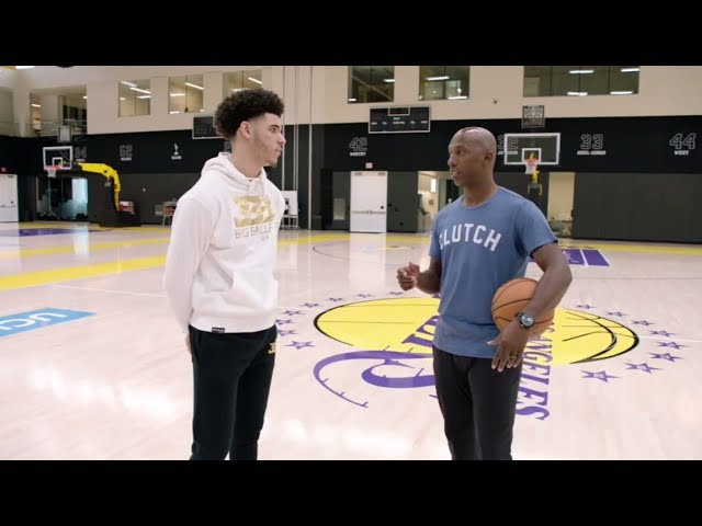 Lonzo Ball interview with Chauncey Billups at Lakers' facility | ESPN