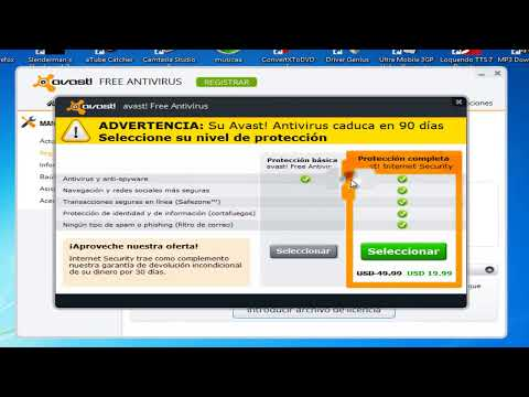 Como descargar avast! Internet Security 8+serial]+[2038] 2013