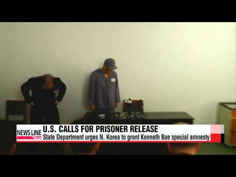 U.S. urges N. Korea to release Kenneth Bae