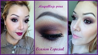 Thanksgiving Makeup Look/ Maquillaje para Ocasion Especial