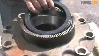 Torque Parts e barrier Wheel Seal Installation by Hand and by Hammer