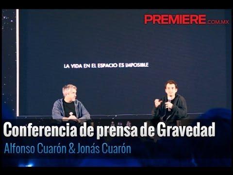 Conferencia de prensa de Alfonso y Jonás Cuarón sobre Gravedad