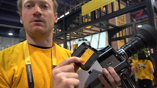 Kodak Super 8 Camera with digital viewfinder, audio recording to SD card