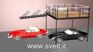 Svelt - Scala per soppalchi basculante