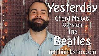 Yesterday - Chord Melody Ukulele Tutorial - The Beatles