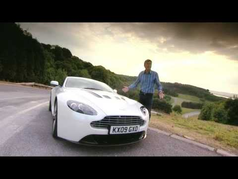 Aston Martin V12 Vantage Fifth Gear tiff needell baby aston DB9 DBS V8 Vantage