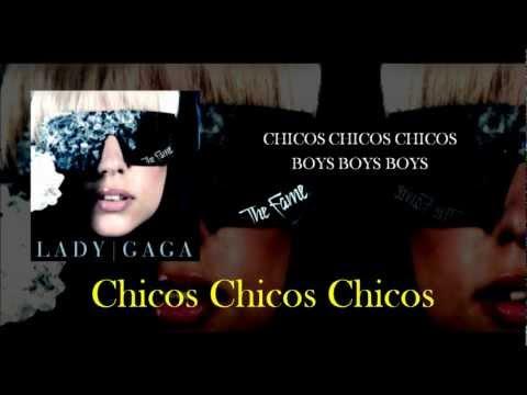 Boys Boys Boys - Lady Gaga (traducción - Español) video